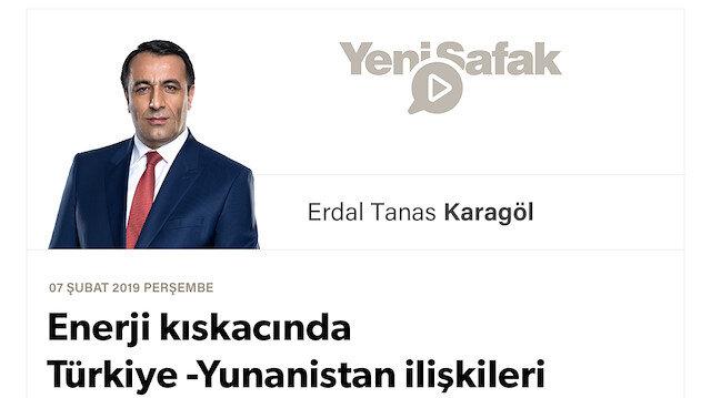 Enerji kıskacında Türkiye -Yunanistan ilişkileri