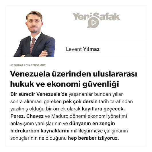 Venezuela üzerinden uluslararası hukuk ve ekonomi güvenliği