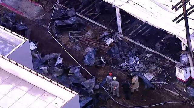 Flamengo tesislerinde facia: 10 ölü