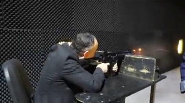 Kırıkkale Belediye Başkanı Saygılı MPT-76 ile atış yaptı