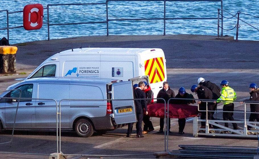 Sala'nın cesedinin tanınmaz halde denizden çıkarıldığı belirtildi.