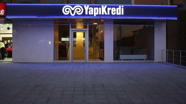 Yapı Kredi Bankası.