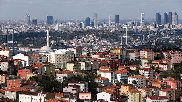 İstanbul'da 100 metrekarelik bir daire için ortalama bin 600 lira kira ödeniyor.