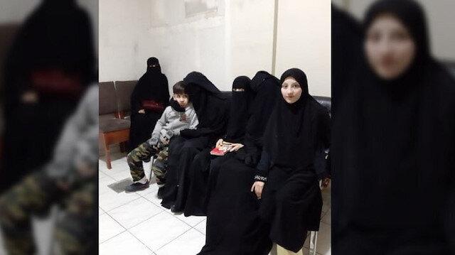 İslam Canibekov'un ailesi