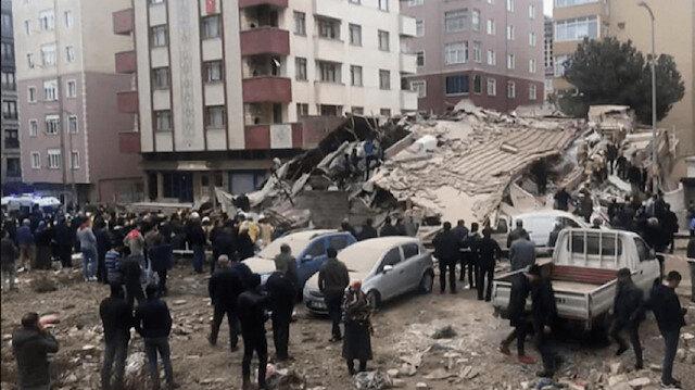 تفاصيل جديدة حول انهيار مبنى إسطنبول