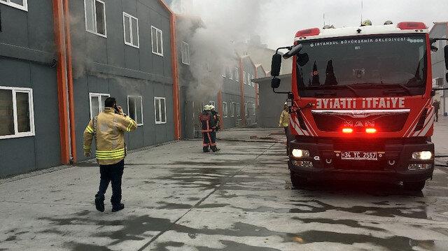 Yangın, olay yerine gelen itfaiye ekiplerince söndürüldü.