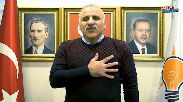 AK Parti'nin Trabzon adayı Zorluoğlu MHP'nin 50. yılını kutladı