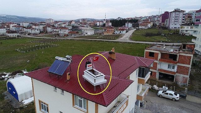 Çatıya koydu görenler şaşkına döndü: Her şey Karadenizliler için