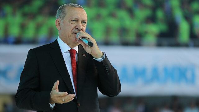 Cumhurbaşkanı Erdoğan'dan halcilere sert uyarı