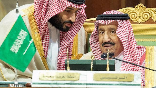 Saudi King Salman and son Crown Prince Mohammad bin Salman