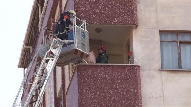 Riskli binadan kontrollü tahliye