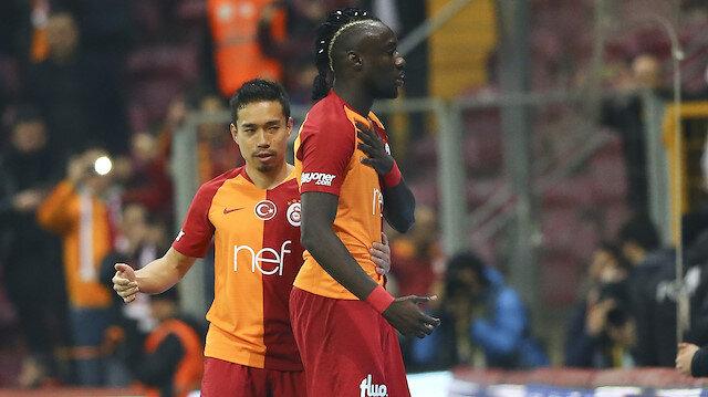 Mbaye Diagne, attığı golün ardından Metin Oktay sevinci yaptı.
