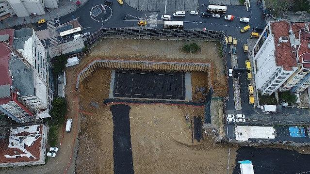 Yeni AKM binası temel atma töreni için hazır