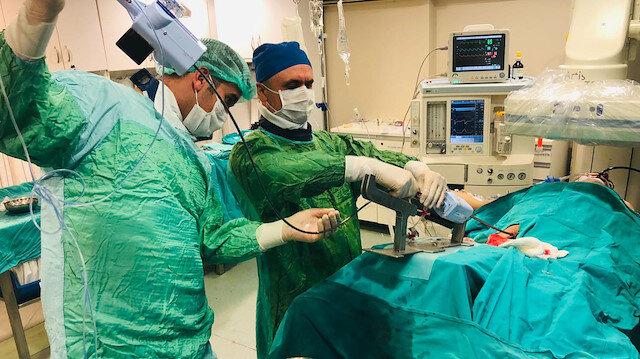 Karaciğer hastası kalp ameliyatıyla iyileşti