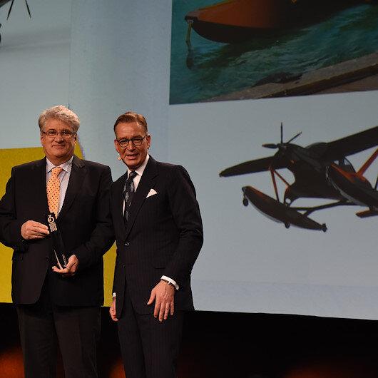 طائرة تركية تهبط في البرّ والبحر تفوز بجائزة ألمانية
