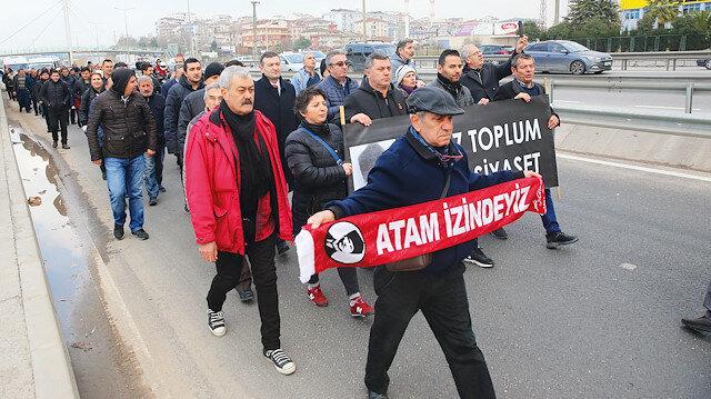 Kılıçdaroğlu'na tepki yürüyüşü 4'üncü gününde