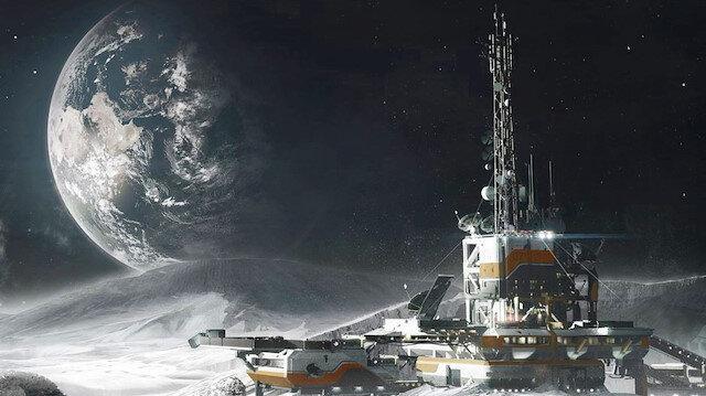 ABD ve Rusya Ay'da üs kuracak