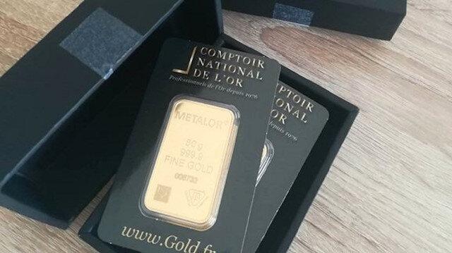 Sipariş ettiği hediye kargosundan 120 bin liralık külçe altın çıktı