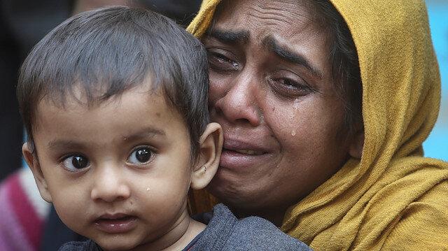 Arakanlı Müslümanlar, Myanmar'da zulme maruz kalıyor.