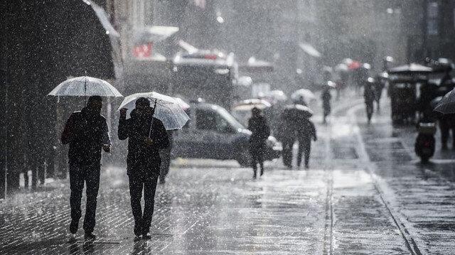 Meteoroloji saat verdi: Sıcaklık artacak sağanak etkili olacak