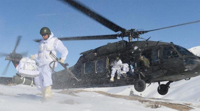 Jandarmadan PKK'nın kış üslenmesine ağır darbe