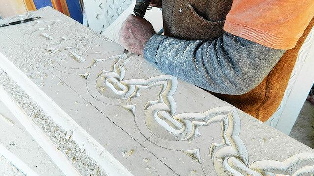 Bayburt'ta işlenen taş 4 kıtaya ihraç ediliyor