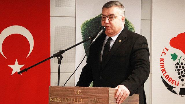 Kırklareli Belediye Başkanı Mehmet Siyam Kesimoğlu.