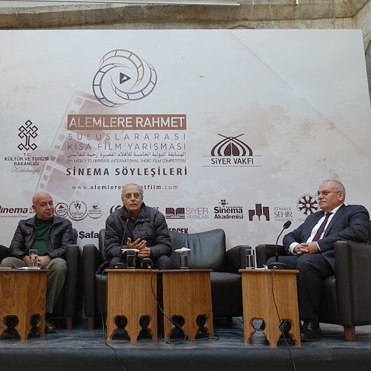 Alemlere Rahmet Uluslararası Kısa Film Yarışması Sinema Söyleşileri başladı
