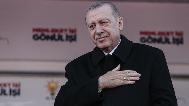 Cumhurbaşkanı Recep Tayyip Erdoğan Çorum'da coşkulu kalabalığa hitap etti.