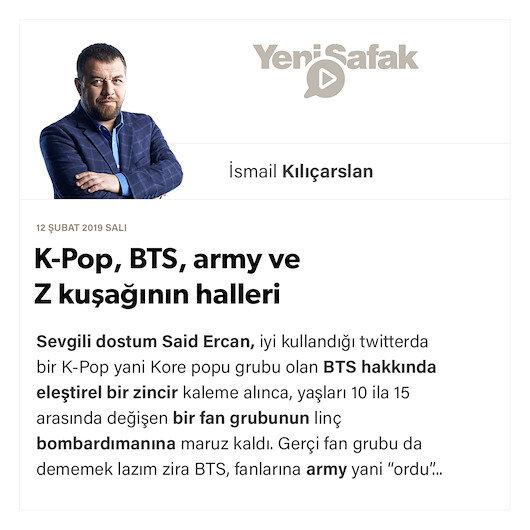 K-Pop, BTS, army ve Z kuşağının halleri