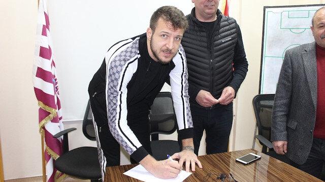 Bandırmaspor transfer döneminin son gününde Batuhan'ı kadrosuna katmıştı.