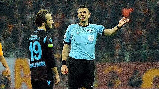 Ümit Öztürk'ün Galatasaray-Trabzonspor maçındaki kararları bordo-mavililierin büyük tepkisini çekti.