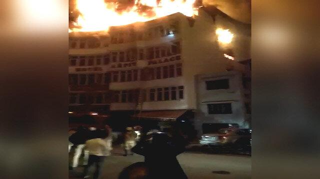 Otel yangınında 17 kişi hayatını kaybetti