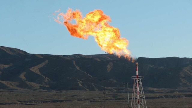 Trakya'daki Batı Çeltik-1 Kuyusu'nda bulunan doğalgaz için flare yakma töreni yapıldı.
