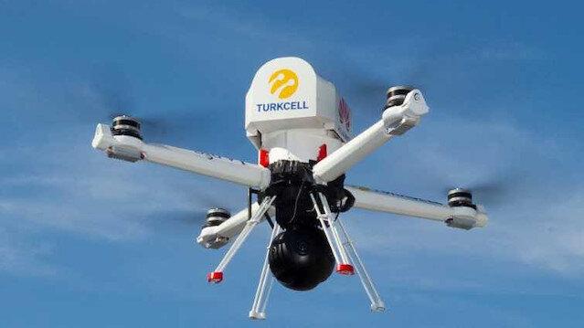 Turkcell yerli drone ile 5G teknolojisinde bir ilki başardı.
