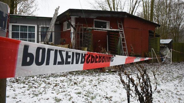 Almanya'daki Lügde şehrindeki kamp polis tarafından kapatıldı.