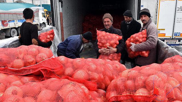 Kuru soğanda gümrük vergisi 28 Şubat'a kadar sıfırlandı.