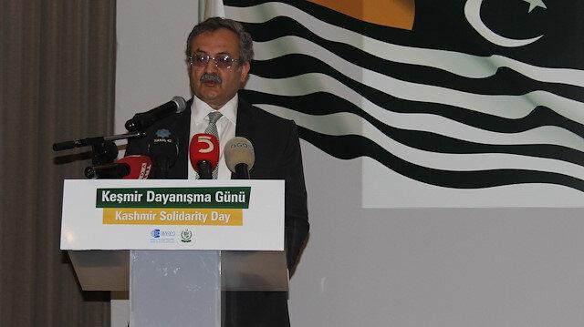 Pakistan'ın Ankara Büyükelçisi Gazi: Keşmir'e desteği için Türkiye'ye minnettarız