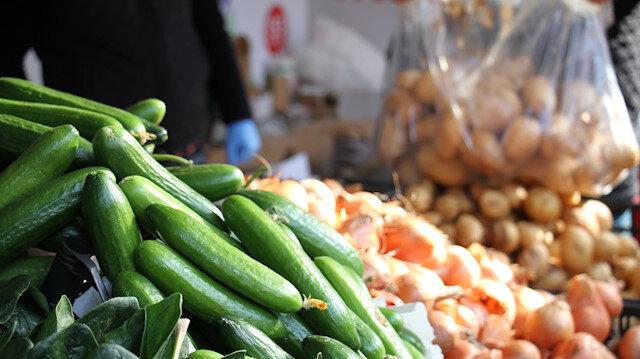 Üreticiden tüketiciye doğrudan sebze satışı başladı.