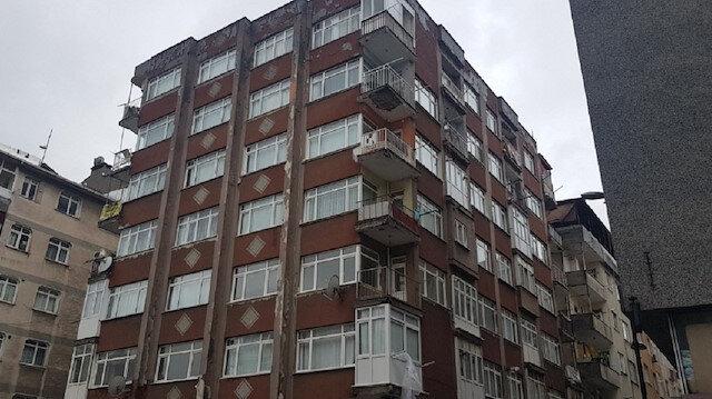 Bahçelievler'de 7 katlı bina tahliye edildi