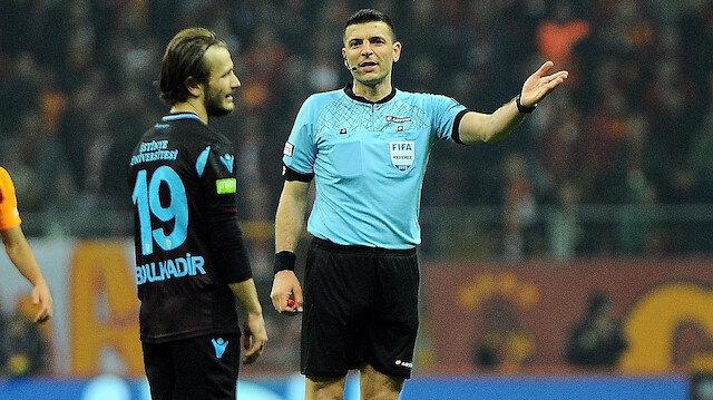 Galatasaray-Trabzonspor maçında verdiği kararlara kamuoyunda büyük eleştirilere neden olan Ümit Öztürk'e 22. haftada maç verilmedi.