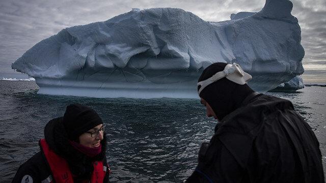 Bilim insanları Antarktika'da çalışmalarını titizlikle sürdürüyor