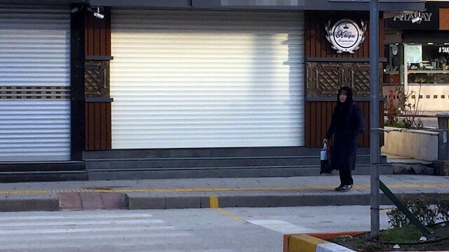 Kuyumcu dükkanı soygunun ardından incelemelerin tamamlanabilmesi için kapatıldı.
