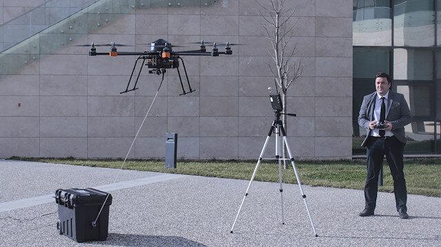 Geliştirilen kablolu drone tasarımı sayesinde droneları sınırsız süre uçurabilmek mümkün hale gelecek.