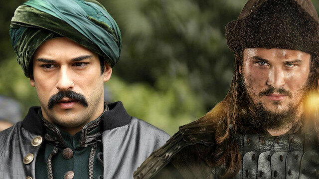 Büyük mücadelede birlikteler: Diriliş Ertuğrul'dan Osman Gazi'ye geçenler