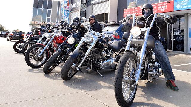 Muslim bikers in Australia