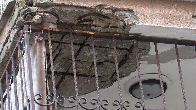 Bahçelievler'de 7 katlı bina boşaltıldı