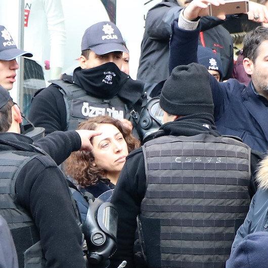 HDP'li vekilin kolunu ısırdığı polis 10 gün rapor aldı