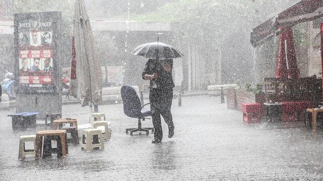 Fırtına ve sağanak yağış etkisini artıracak