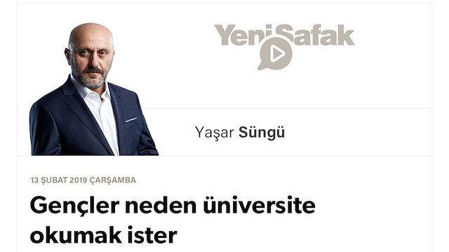 Gençler neden üniversite okumak ister